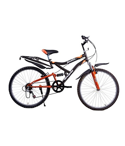 Hero Unisex Sprint Javelin 26t Mountain Bike Bicycle with 6 Speed And Double Suspensions