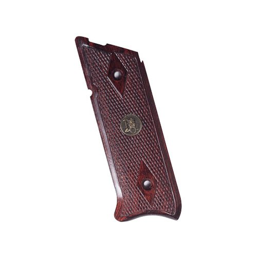 Pachmayr 63180 Renegade Wood Laminate Pistol Grips, Ruger Mark Ii/III, Rosewood, Checkered