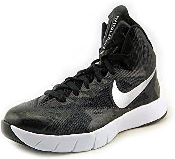 Nike Mens Lunar Many excellence popular brands Hyperquickness Basketball Shoe Blk 10Â SZ Wht