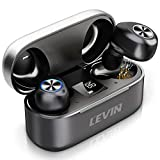 Bluetooth 5.0 Wireless Headphones Earbuds - Stereo Bluetooth Earphones with Charging Case/Built-in Mic/IPX7