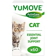 Lintbells | YuMOVE Cat | Hip and Joint Supplement for Stiff Cats, with Glucosamine, Chondroitin, Gre...
