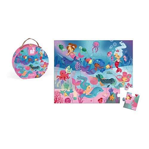 Janod  Puzzle, Color Rosa ( J02683)