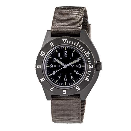 MARATHON WW194001 - Reloj de Cuarzo con tritio, diseño Militar Suizo