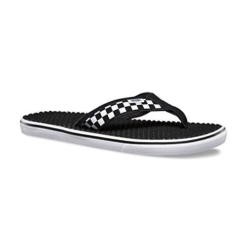 Vans Flip-Flops La Costa Lite (APK) (Checkerboard), Schwarz/Weiß, VN0A38CUAPK, Schwarz (Schachbrett schwarz/weiß), 41 EU