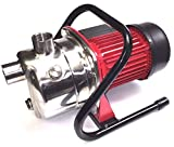 740 GPH Stainless Steel Lawn Sprinkling Pump Electric Water Utility Transfer Pump Shallow Well Pump Garden Lawn Irrigation Booster Pump (740 GPH)