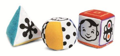 Manhattan Toy Wimmer-Ferguson - Ensemble de formes pour activités douces multi-sensorielles Mind-Shapes