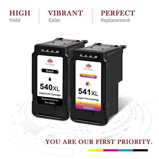 Toner Kingdom PG-540XL CL-541XL Cartuchos de Tinta remanufacturados compatibles para Canon 540 541 para Canon MG4250… 2