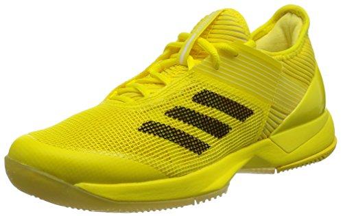 adidas adidas Damen Adizero Ubersonic 3 W BY1615 Tennisschuhe, Gelbe Amabri Schwarz Ftwbla, 40 1/3 EU