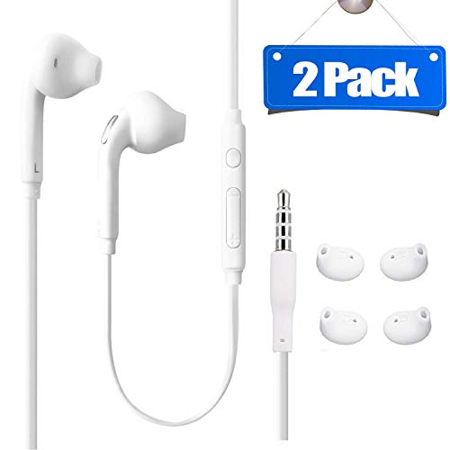 Aux Headphones 3.5mm Wired in-Ear Earbuds/Earphones with Mic and...