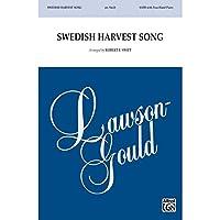 Swedish Harvest Song - Arr. Robert F. Swift - Choral Octavo - SATB
