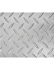 Revestimiento de Caucho Antideslizante   Suelo de Goma PVC Gris 1mm Diseño Estrias
