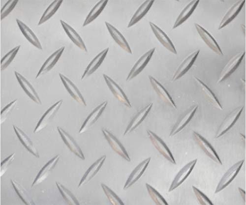 Revestimiento de Caucho Antideslizante | Suelo de Goma PVC Gris 1mm Diseño Estrias (140_x_100 CM)