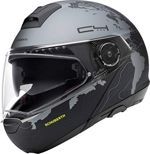 SCHUBERTH Damen C4 Pro Women Helm, Magnitudo Black Mat, 57 (M)