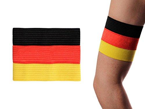 Alsino Deutschland Kapitänsbinde Spielführer Armbinde EM Binde Flagge Spielführerbinde, Variante wählen:00/0631 Deutschland