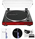 Best Automatic Turntables - Audio Technica AT-LP60XBT-RD Fully Automatic Belt-Drive Stereo Turntable Review
