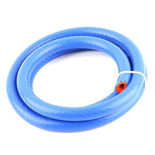 CROSYO 1pc 1 Meter Espesamiento de Silicona Tubo de Caucho de la Manguera Soft 6 8 10 12 20 mm Fuera de la Manguera Flexible Diámetro (Color : Blue, tamaño : 25x31mm)