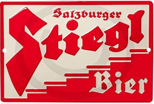 qidushop Stiegl Bier Store Pub Brew Reproduktion (Nicht geprägt) Neuheit Aluminium Blechschild Wand Dekoration für Männer 20 x 30 cm
