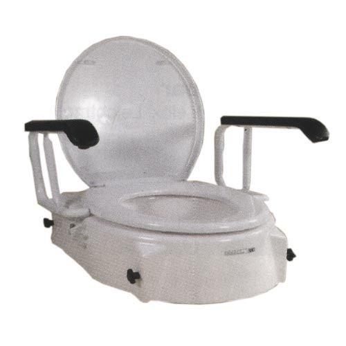 Toiletbrilverhoger, in hoogte verstelbaar, toiletopzetstuk, wc-opzetstuk, zitverhoging