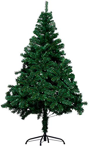 GPFFACAI Skinny Christmas Tree Barm Realistic Artificial Christmas Tree, PVC Christmas Tree with Stand Holiday Decorations Indoor Outdoor New Year Ornament Easy Assembly