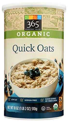 365 Everyday Value, Organic Quick Oats, 18 oz