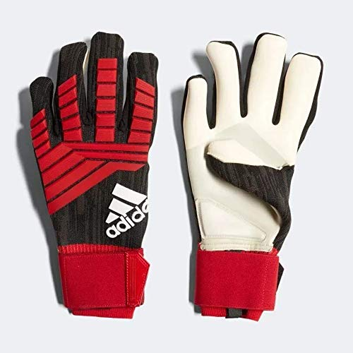 Luva Adidas Predator Profissional Finger Goalkeeper Glove Red CW5634 (Vermelho, 11)