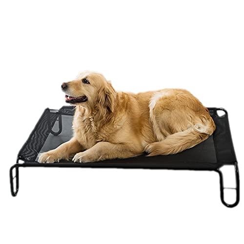 Perrera Elevada Transpirable Y A Prueba De Humedad, Perrera Extraíble Y Lavable, Adecuada para Perros De Todos Los Tamaños,XL