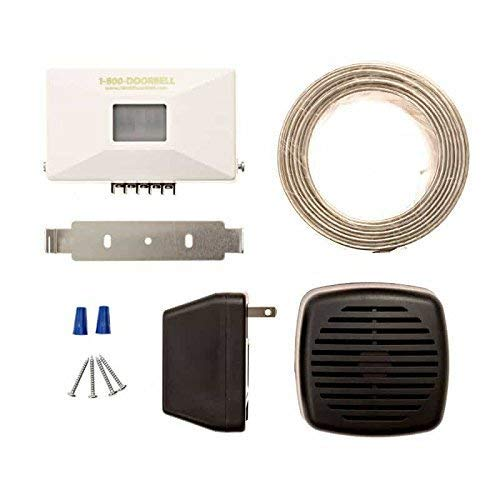 Door Buzzer for Business Entry- Made in the USA Wired PIR Motion Sensor Doorbell - Safeguard Supply Easy to Install Door Chime for Business when Entering - Business Door Entry Chime Applications