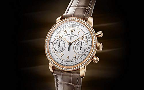 Patek Philippe Complications Rose Gold 7150-250R-001 with Silvery Opaline dial