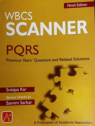 WBCS SCANNER 9TH EDITION IN ENGLISH