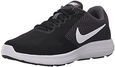 NIKE Women's Revolution 3 Running Shoe, Dark Grey/White/Black, 8.5 B(M) US