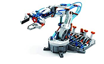 "Elenco Teach Tech ""Hydrobot Arm Kit"" Hydraulic Kit STEM Building Toy for Kids 10+"