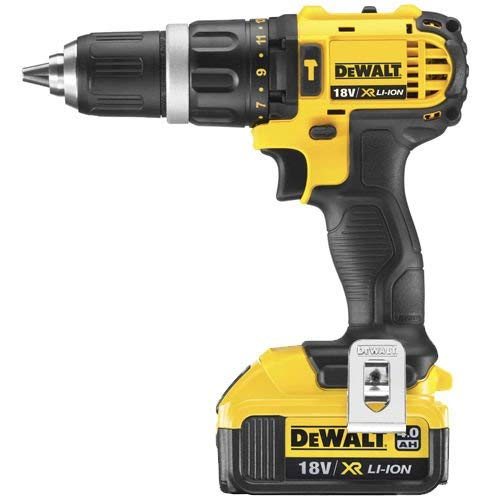 Dewalt DCD785N 18v XR Li-ion 2 Speed Combi Drill Body + 1 x 4.0ah Battery DCB182