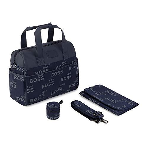 Bolso cambiador con colchón BOSS BEBE pañal, color azul cargo talla única