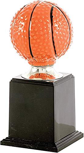 Art-Trophies AT85221 Trofeo Deportivo, Naranja, 18 cm