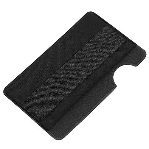 ibasenice Zwarte Mobiele Telefoon Kaarthouder Met Telefoon Grip Strap Id Credit Card Wallet Telefoon Case Pouch Sleeve…