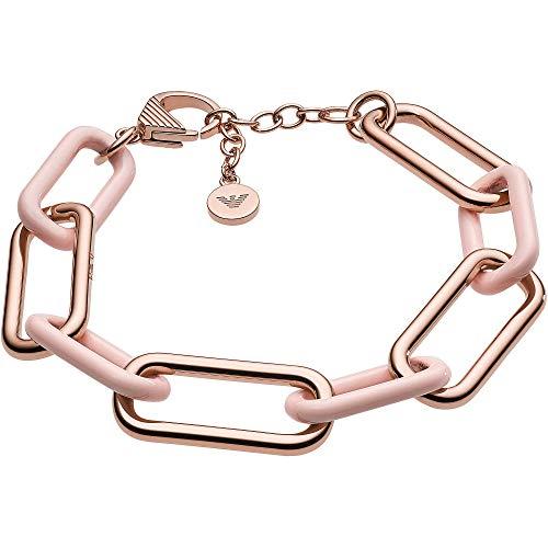 Emporio Armani EGS2700221 Damen Armband Edelstahl Rose 22 cm