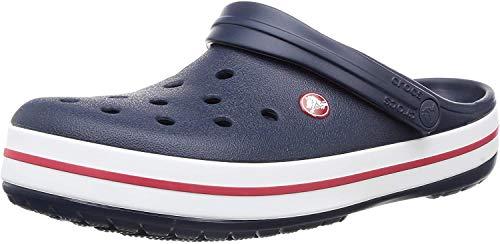 Crocs Crocband Clogs Mules Navy Blue, tamaño:M8