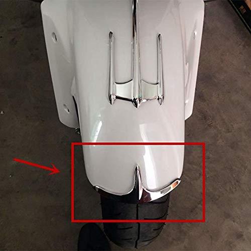 HANEU Cromo de alta calidad carenado guardabarros delantero punta accesorios para Goldwing GL 1800 GL1800 2001-2011