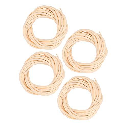 Dilwe 4 PCS/Set Cuerdas 5mm 4mm 3mm 2.5mm Cuerda Ubass para U-Bass Ukelele Bass