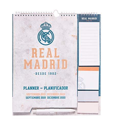 Erik CPF1906 - Planificador mensual familiar 2020 Real Madrid