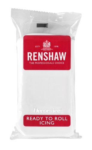 Renshaw Regalice Rollfondant 500 g - Weiß zum Torten überziehen