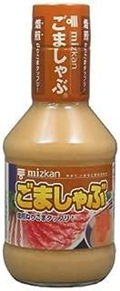 Mizkan Dipping Sauce For Shabu-Shabu Sesame Flavor - Goma Shabu , Net Wt 8.4 Fl Oz Japan Import