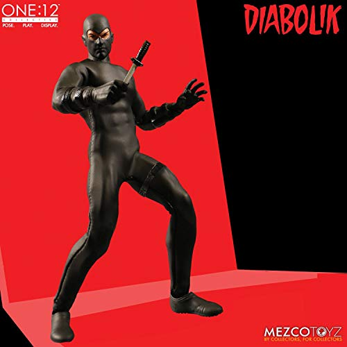 Mezco One: 12 Collective: Diabolik Action Figure