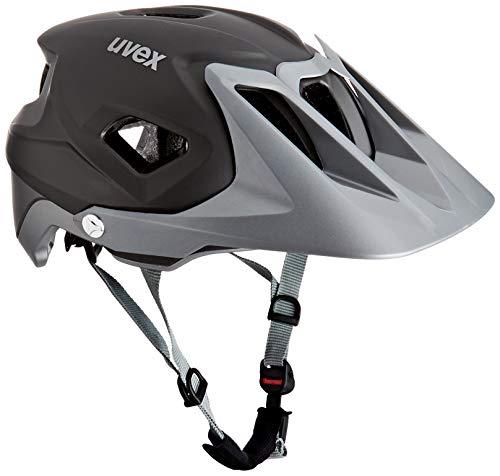 Uvex Unisex– Erwachsene, quatro integrale Fahrradhelm, grey mat, 56-61 cm