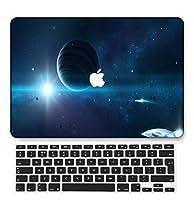 FULY-CASE プラスチックウルトラスリムライトハードシェルケース対応のある新しいMacBook Pro 13インチあり/なしタッチバー/タッチIDUSキーボードカバー A2159/A1989/A1706/A1708 (星空 B 0140)