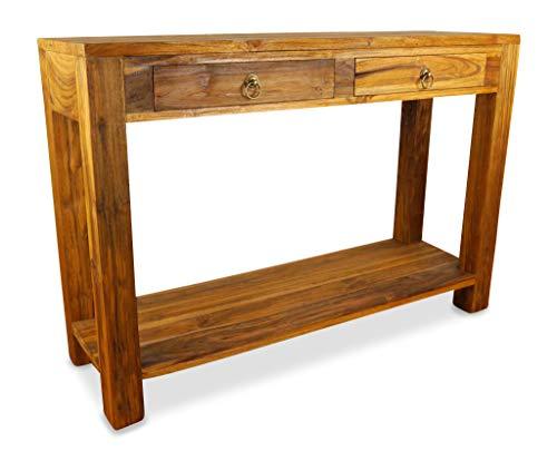 livasia Java Anrichte aus Teakholz | Sideboard aus Massivholz | Highboard der Marke Asia Wohnstudio | Beistelltisch | Konsolentisch aus Vollholz (Handarbeit)