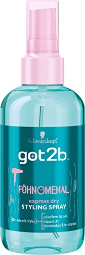 got2b Föhn O Menal Pump-Spray, 2er Pack (2 x 200 ml)