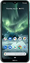 NOKIA 7.2 Android Smartphone, 6GB RAM, 128GB Memory, 6.3 FHD+ Screen, 48MP Triple Camera ZEISS Optics - Green