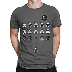 Camisetas La Colmena 1349-Camiseta Space Wars (Karlangas)