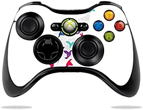 MightySkins Skin Compatible with Microsoft Xbox 360 Controller - Paper Birds   Protective, Durable, and Unique Vinyl Decal wrap Cover   Easy to Apply, Remove, and Change Styles   Made in The USA